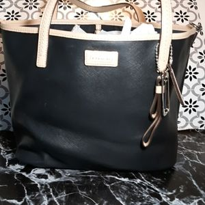 Coach Park Metro Leather Small Tote black